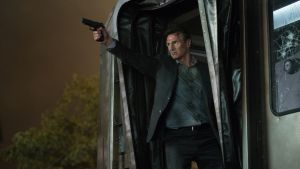 Liam Neeson in 'The Commuter'. Photograph: Lionsgate