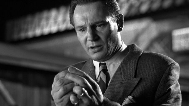Liam Neeson played Oskar Schindler in Schindler's List, a role every Hollywood A-list actor was chasing. Photograph: Universal Pictures