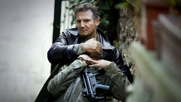 The Taken series helped Liam Neeson become the busiest punch-up guy in the world