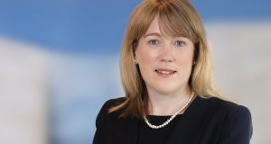 Gráinne McEvoy, former head of securities and markets supervision, has been appointed to the role of director of consumer protection at the Central Bank. Photograph:  Jason Clarke Photography