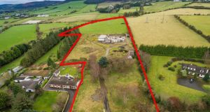 This Rathcoole site of 11.27 acres was bought by Leo Meenagh, who planned a huge house with a swimming pool, underground cinema and five bedroom suites, with walk-in dressing rooms and en-suite bathrooms