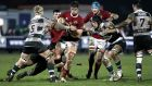 Gerbrandt Grobler in action for Munster 'A' last weekend. Photograph: Daniel Matthams/Inpho