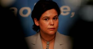 Mary Lou McDonald: it is understood the party's ardcomhairle will meet on Saturday to finalise the preparation for the special ardfheis to ratify Ms McDonald's promotion. Photograph: Eric Luke