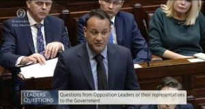 "Taoiseach Leo Varadkar told the Dáil: ""I am committed to having a referendum in May or June if possible."""