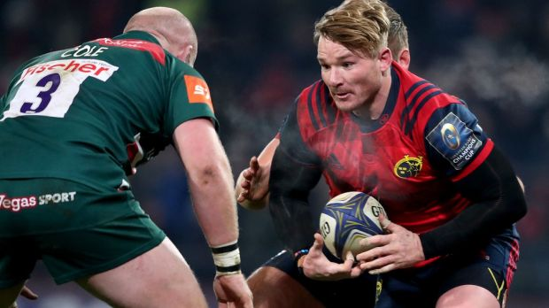 The likes of Chris Cloete are a foreign solution to a long term problem because Munster need to remain a European force. Photograph: Dan Sheridan/Inpho