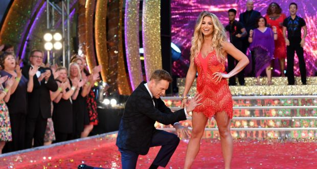 573c1156928d17 'Strictly Come Dancing' contestants Brian Conley and Gemma Atkinson in  London last year.
