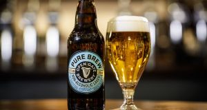 Pure Brew: Guinness promises all the flavour and none of the alcohol of regular lager.