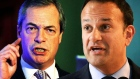 Varadkar and Farage quarrel over Brexit