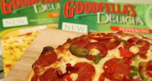 A Goodfella's pizza. Photograph: Suzanne Plunkett/Bloomberg News