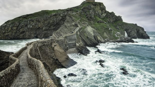 The rocky coast of Asturias