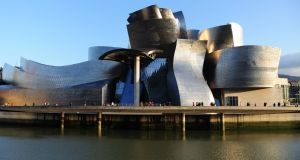 Guggenheim Museum Bilbao is a museum of modern and contemporary art designed by Canadian-American architect Frank Gehry in 1997