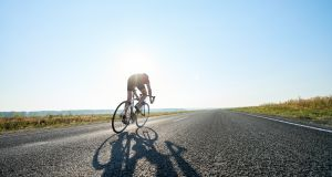 A Dublin man took part in a triathlon only five weeks after allegedly suffering 'incapacitating injuries' in a cycling accident, the Circuit Civil Court has heard. File image: iStock.