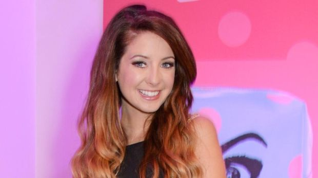 English fashion and beauty vlogger Zoella, or Zoe Sugg, has more than 12 million YouTube subscribers. Photograph: David M Benett/Getty Images