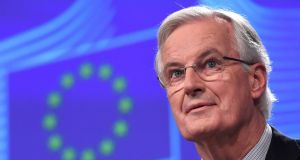 EU chief Brexit negotiator Michel Barnier: Both sides are agreed about the basic shape of transition. Photograph: Getty Images