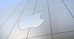 Apple: Making history with a gigantic US tax payment. Photograph: Getty
