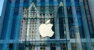 "Apple said  the investments would help it make a $350 billion ""direct contribution"" to the US economy over the next five years. Photograph: Getty"