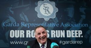 "GRA general secretary Pat Ennis said infighting within the organisation is ""political"". Photograph: Conor Ó Mearáin"