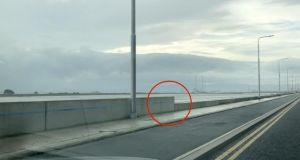 Part of the Clontarf flood defence wall will be lowered at a cost of €500,000