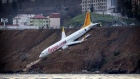 Turkey tows plane that skidded off runway on Black Sea coast