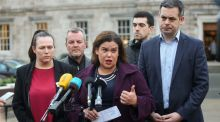 Mary Lou McDonald's task is huge. To lead the party in a way that refutes the overwhelming sense, even among neutrals, that Sinn Féin is deeply controlled by a Belfast conclave. Photograph: Gareth Chaney/Collins