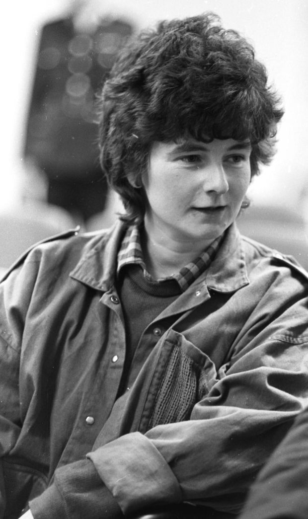 Joanne Hayes at the tribunal into the Garda handling of the Kerry Babies case in 1985. Photograph: Peter Thursfield
