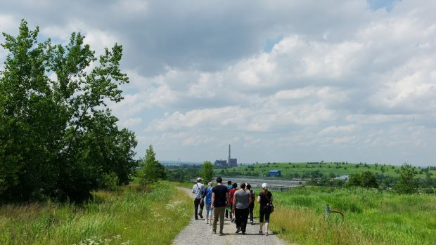 Freshkills Park, Staten Island is New York's most ambitious park project in more than a century, three times the size of Central Park. Photograph: Getty Images
