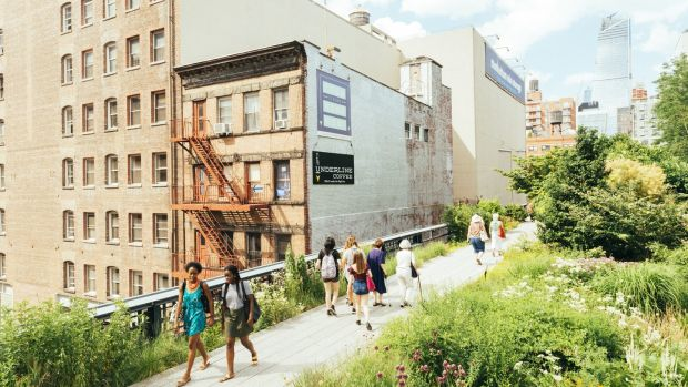 The High Line is one of the city's youngest, most original, and most celebrated parks. Photograph: Istock