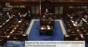 A Dáil debate on the findings of the Oireachtas committee on the Eighth Amendment has concluded.