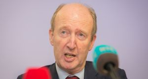 Minister for Transport Shane Ross who voted in error against his own Road Traffic Bill. Photograph: Collins