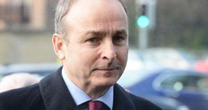 Micheál Martin: his speech would have been unthinkable from any Fianna Fáil leader in the past. Photograph: Cyril Byrne