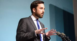 Minister for Housing Eoghan Murphy: acknowledged the homelessness issue would continue to be a challenge in 2018. Photograph: Cyril Byrne