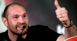 "Tyson Fury's licence suspension will be lifted ""subject to receipt and clearance of all medical requirements"", the British Boxing Board of Control has announced. Photo: Nick Potts/PA Wire"