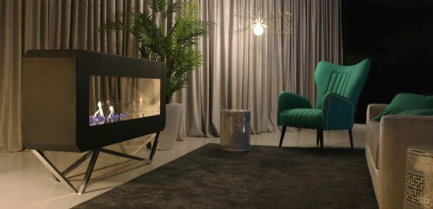 GlammFire, fogos de bioetanol na Maison et Objet 2018