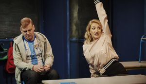 Stephen Jones and Sarah Morris in Class by Iseult Golden and David Horan. Photograph: Ros Kavanagh