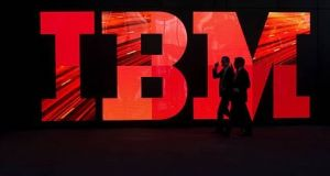 IBM forecast a 2018 operating tax rate of 16% plus or minus 2 percentage points, compared with a rate of 12%  in 2017. Photograph: Getty Images