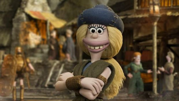 Early Man: Goona, the Bronze Age football star voiced by Maisie Williams