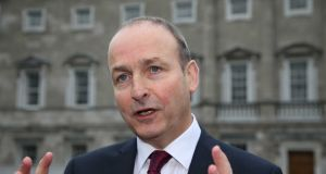 Fianna Fáil leader Micheál Martin's stunned party members by announcing his decision to back repeal of the Eighth Amendment on Thursday. Photograph: Sam Boal / RollingNews.ie