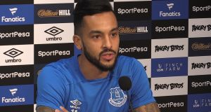 "Everton's new signing Theo Walcott: ""I have a new manager I have to impress and get the ball rolling."" Photograph: PA Wire"