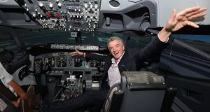Ryanair's chief executive Michael O'Leary last month agreed to recognise pilot trade unions. Photograph: Alan Betson