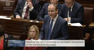 Fianna Fáil leader Micheál Martin outlined his views on the abortion amendment in the Dáil on Thursday and caused astonishment  across the political spectrum.