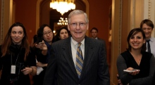 US government in shutdown after Senate fails to pass new budget
