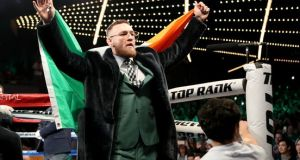 Conor McGregor is to be stripped of his UFC lightweight title. Photograph: Tom Hogan/Inpho