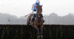 Un De Sceaux completed a Clarence House hat-trick under Paul Townend. Photograph: Julian Herbert/PA