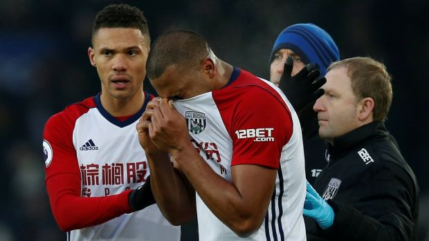 Rondon was left in tears afterwards. Photo: Andrew Yates/Reuters