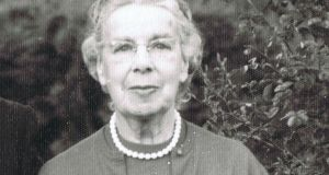 Eleanor Shackleton on the occasion of a visit to Kilkea House in 1959