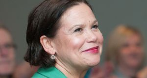 Mary-Lou McDonald was the sole nominee for president of Sinn Féin. Photograph: Dave Meehan