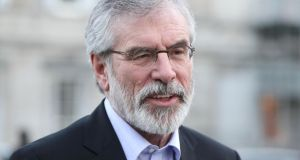 Gerry Adams has been  Sinn Féin leader since 1983.