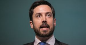 Minister for Housing, Planning and Local Government Eoghan Murphy: low-interest rate mortgages will be available for properties up €320,000 in the Greater Dublin Area, Cork and Galway, while the ceiling in the rest of the country will be €250,000. Photograph: Gareth Chaney Collins