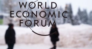 As the great and good of business, science and politics prepare to gather for the World Economic Forum's annual meeting in Davos this week, Oxfam has published a report highlighting a surge in the number of new billionaires created last year and the growing levels of inequality in society. Photograph: Markus Schreiber/AP