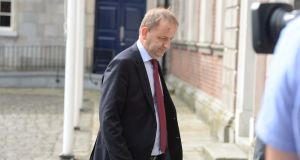Garda whistleblower Sgt Maurice McCabe arriving on the first day of the Charleton tribunal at Dublin Castle last June. Photograph: Alan Betson